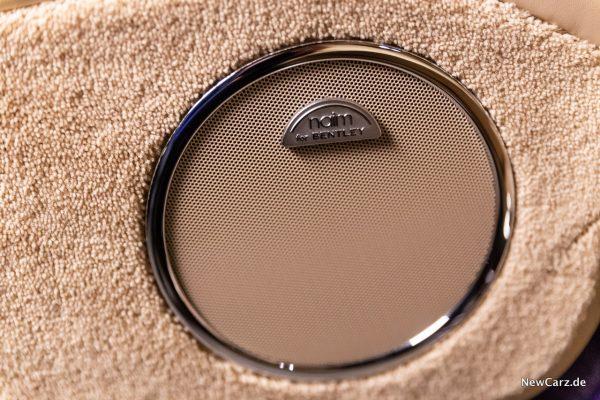 Bentley Mulsanne EWB NAIM Soundsystem