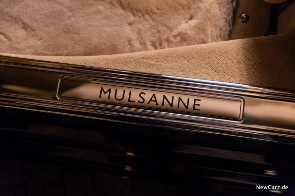 Bentley Mulsanne EWB Einstiegsleiste