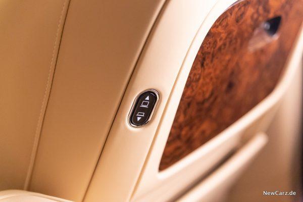Bentley Mulsanne EWB Rear Seat Entertainment
