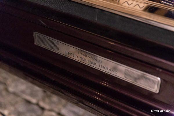 Bentley Mulsanne EWB Handcrafted