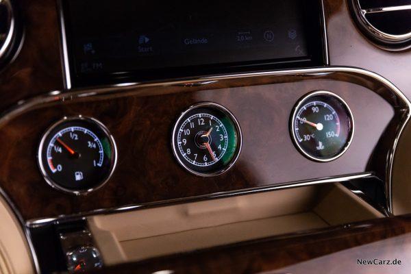 Bentley Mulsanne EWB Analoginstrumente