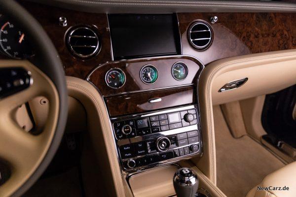 Bentley Mulsanne EWB Infotainment