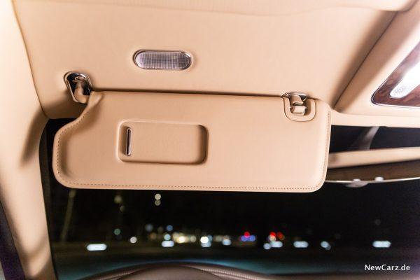 Bentley Mulsanne EWB Sonnenblende