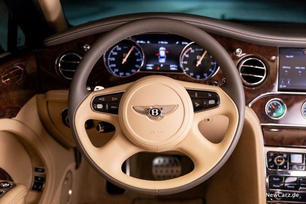 Bentley Mulsanne EWB Lenkrad
