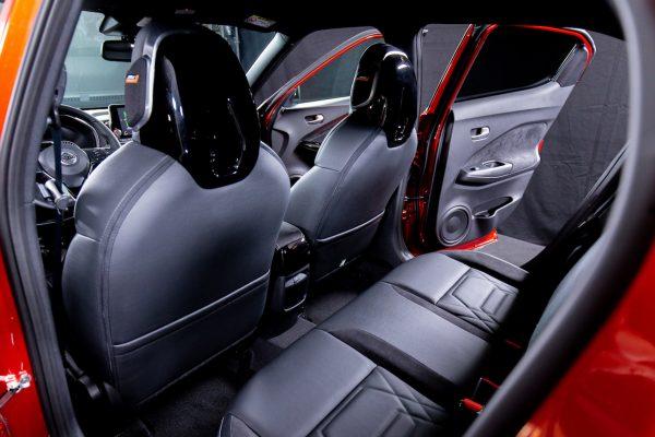 Nissan Juke 2020 Rücksitze