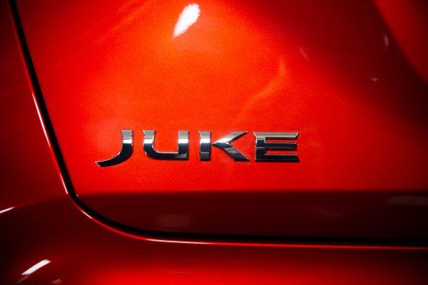 Nissan Juke 2020 Schriftzug
