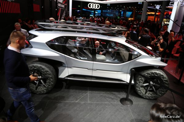 Seitenansicht Audi AI Trail quattro