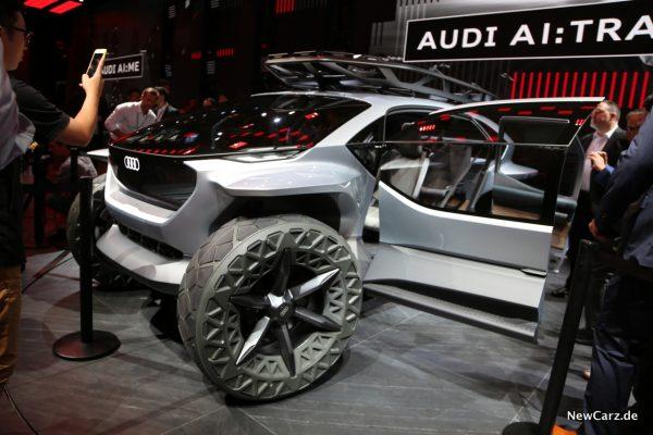 Audi Studie auf IAA
