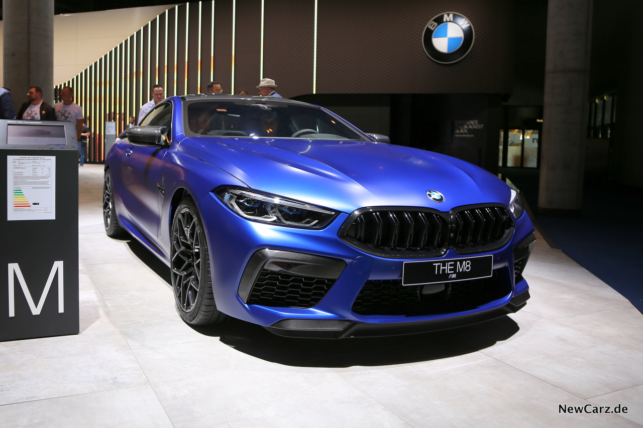 BMW M8 Competition auf IAA