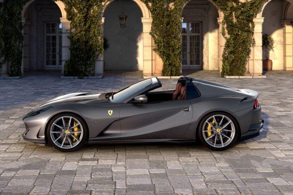 Seitenansicht des Ferrari 812 GTS