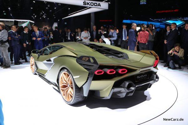 Lamborghini Sian auf IAA 2019