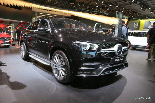 schräg vorn Mercedes-Benz GLE Coupé