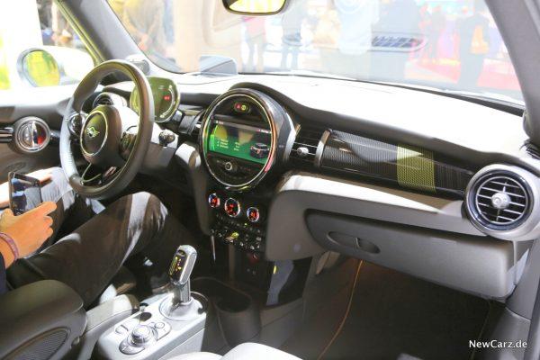 Mini Cooper SE Interieur