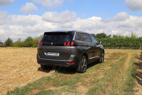 schräg hinten SUV Peugeot