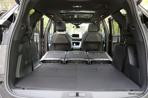 Kofferraum im Peugeot 5008