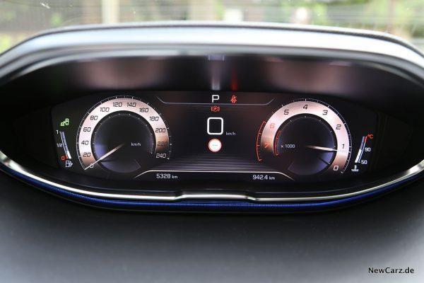 Digitales Cockpit Peugeot