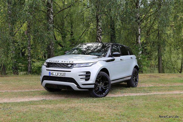 schräg vorne Range Rover Evoque
