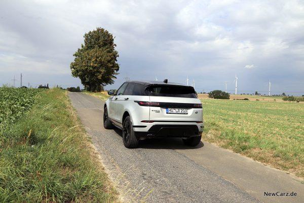 Range Rover Evoque II schräg hinten links