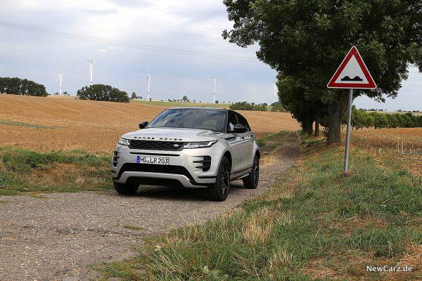 Range Rover Evoque schräg vorn links