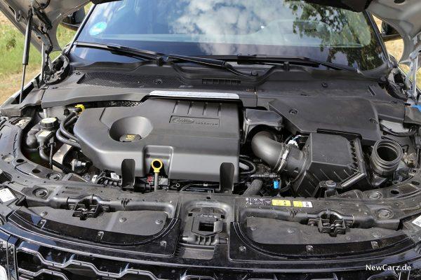 Motor im Evoque D180 SE