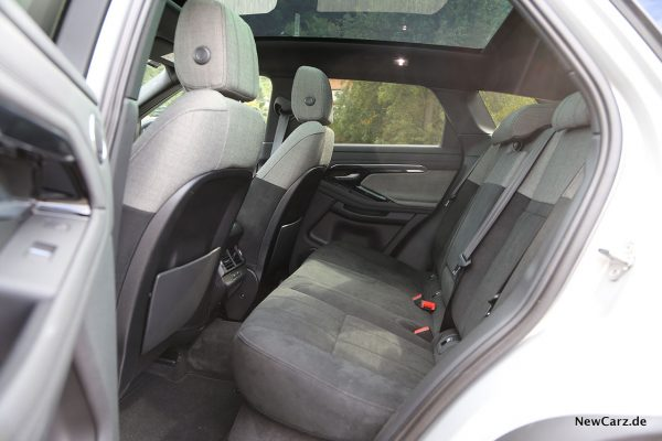 Innenraum RR Evoque II hinten