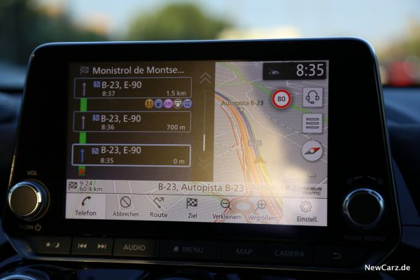 Nissan Juke 2 Navigation