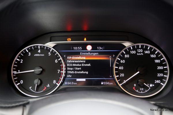 Nissan Juke 2 Assistenzsysteme