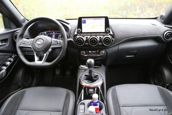 Nissan Juke 2 Innenraum