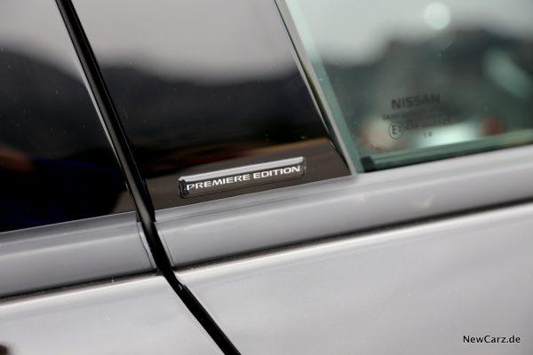 Nissan Juke 2 Premiere Edition Plakette