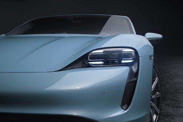 Porsche Taycan 4S Scheinwerfer