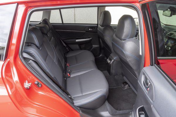 Subaru Levorg Rückbank