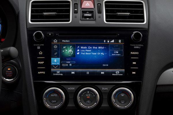Subaru Levorg Infotainment