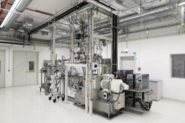 Volkswagen Center of Excellence Extruder