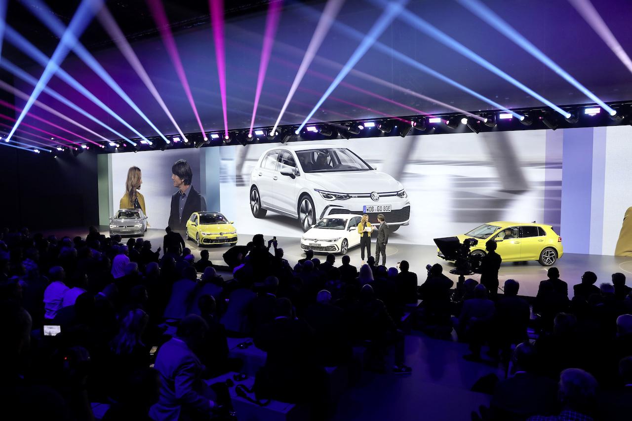 Volkswagen Golf 8 Weltpremiere