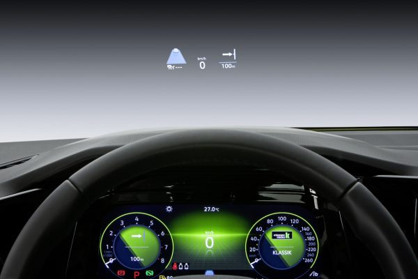 Head-Up-Display Golf