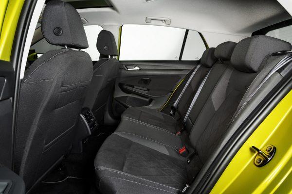 Volkswagen Golf 8 Rücksitze