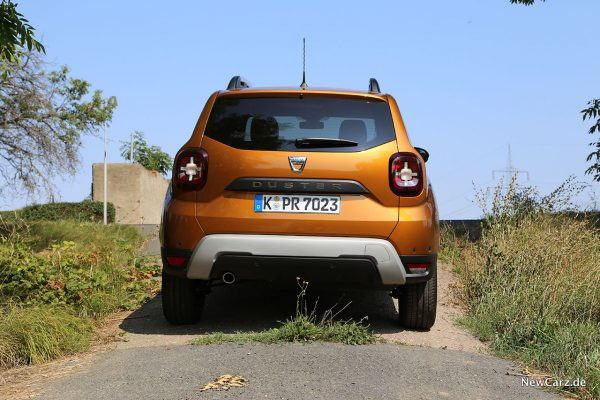 Heck vom Dacia Duster 2. Generation