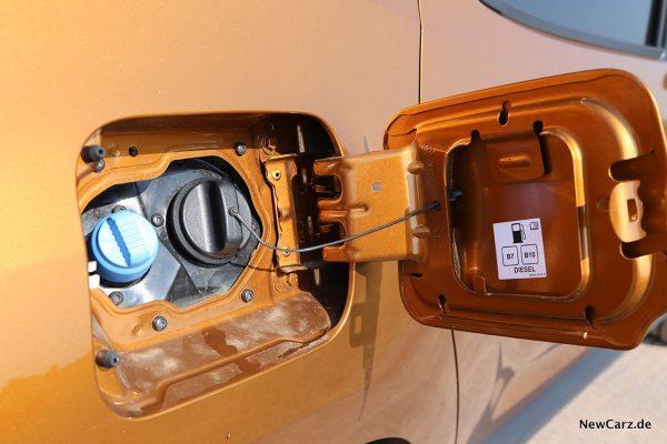 Tankdeckel Dacia