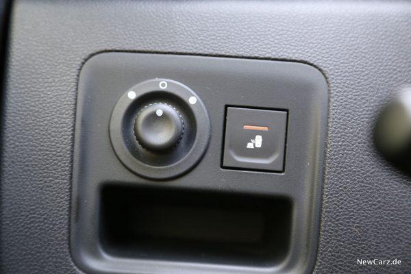 Totwinkelwarner im Dacia