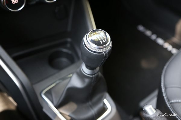 Schaltknauf Dacia Duster