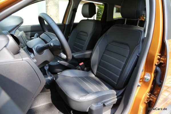 Sitze im Dacia Duster II