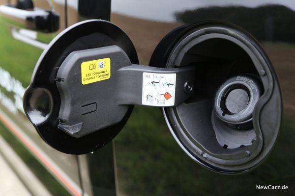 Tankstutzen Pickup