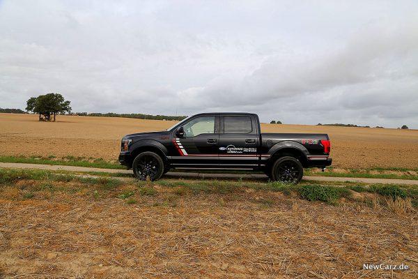 Seitenansicht Pick-Up Ford F-150