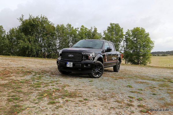 F-150 in Pose