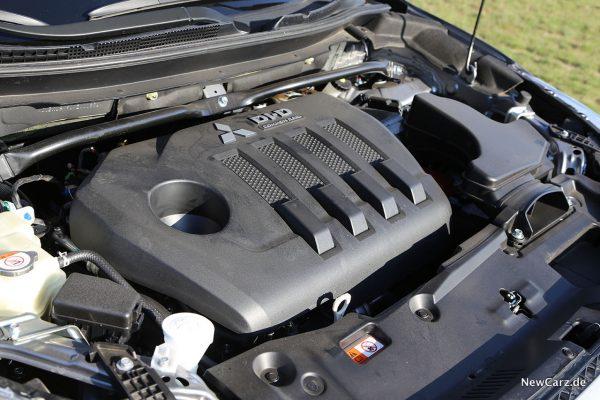 Mottorraum Mitsubishi Diesel