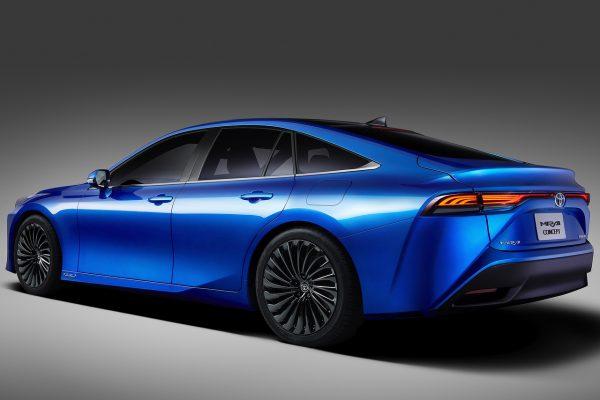 Toyota Mirai Concept schräg hinten links