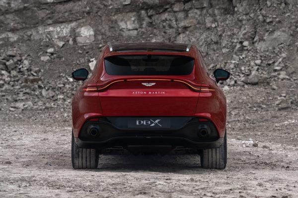 Aston Martin DBX Heck