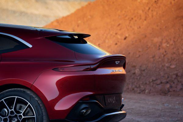 Aston Martin DBX Heckabschluss