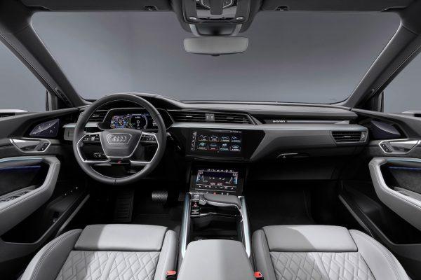Audi e-tron Sportback Innenraum