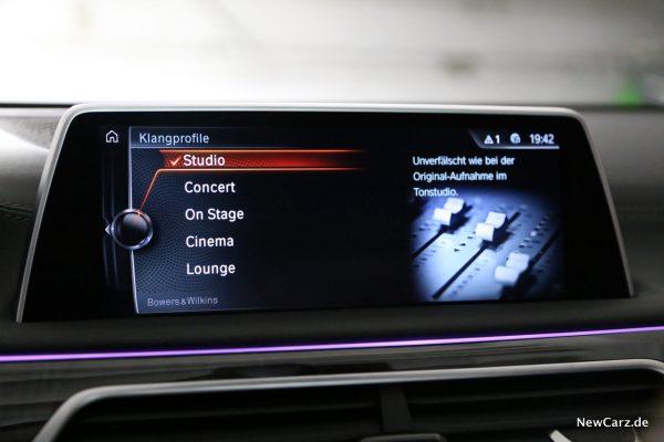 BMW 7er B&W Studio